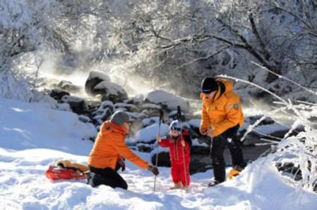 divertimento per famiglie tra le nevi